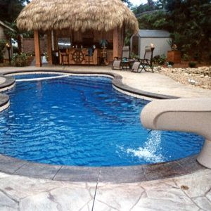 Best 25 fiberglass swimming pools ideas on pinterest for Above ground pool decks tulsa