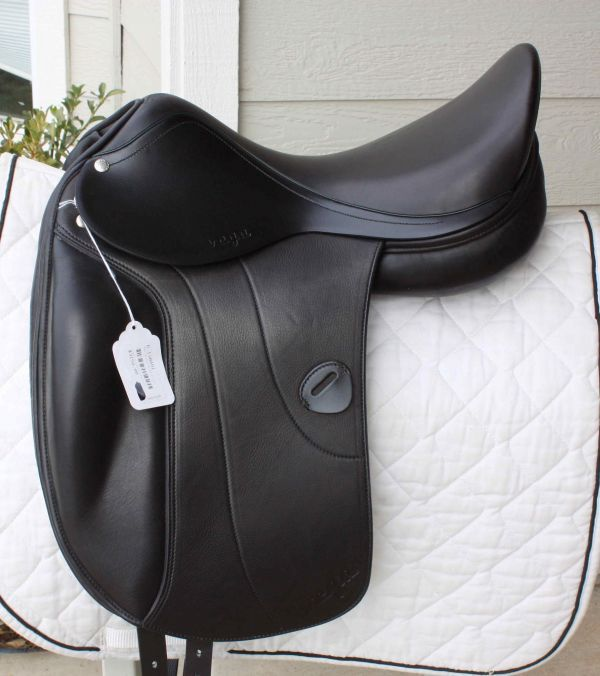 Amerigo Vega Monoflap Dressage Saddle Medium Narrow 17