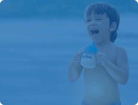 Friso formula milk range of nutrition, 100% produced and imported from The Netherlands, specially formulated with FrisoShield and essential nutrients for your growing child' daily nutritional needs