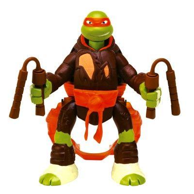 Figurine Tortues Ninja : Saut d'attaque : Michelangelo Giochi Preziosi - Magasin de Jouets pour Enfants