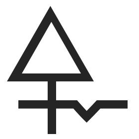 Alchemy Sulfur Symbol - Pinned by The Mystic's Emporium on Etsy