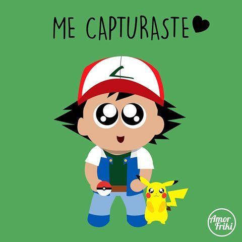 Ash + pikachu