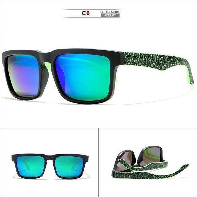 Polarized sunglasses UV400 fit over glasses onnebril For Men and Women Glasse...