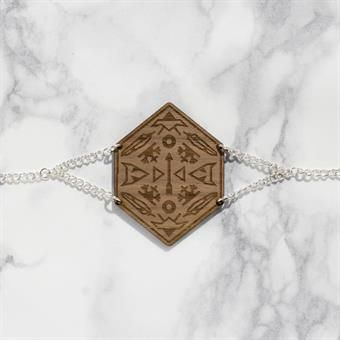 YO ZEN Shaman Armband Valnöt / Walnut Bracelet