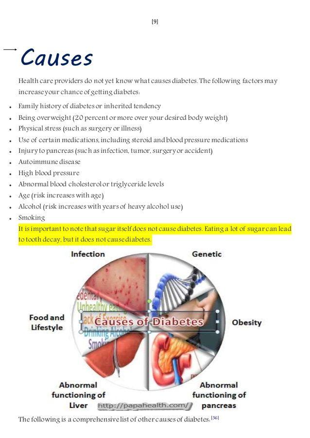 Apfelessig diabetes mellitus
