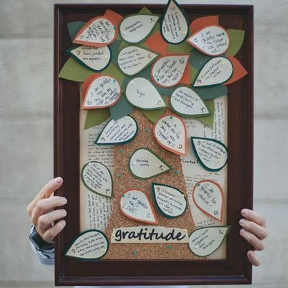 Grab your family and make this gratitude tree. It will become a great Thanksgiving decoration to put out each year and a great reminder to appreciate too!