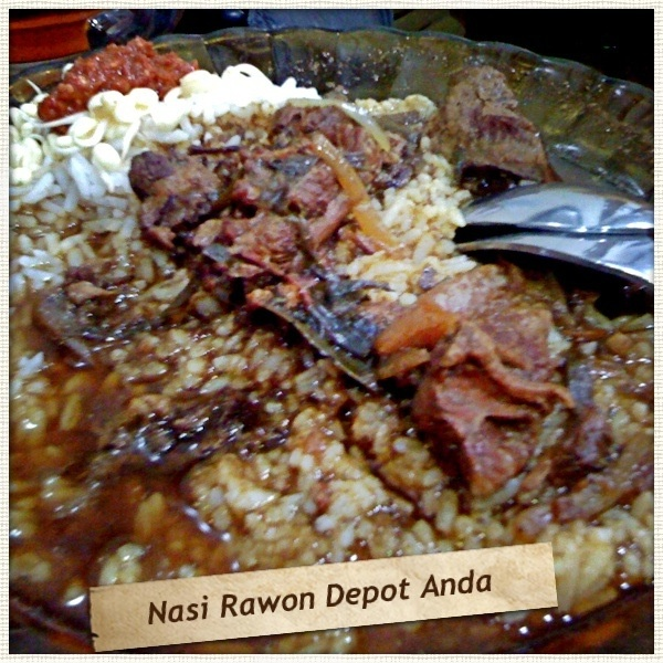 Nasi Rawon #IndonesianFood #MyFaveFood :p