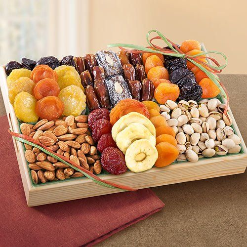 Pacific Coast Deluxe Dried Fruit Tray with Nuts, Love this!