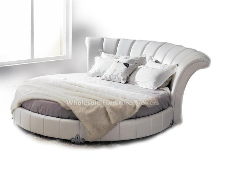 Venetian Round Platform Bed