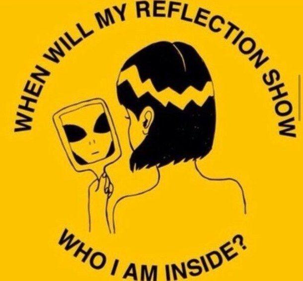 aesthetic, alien, yellow