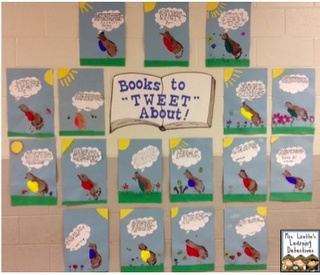 Great back to school activity to show the what books that were read over the summer.