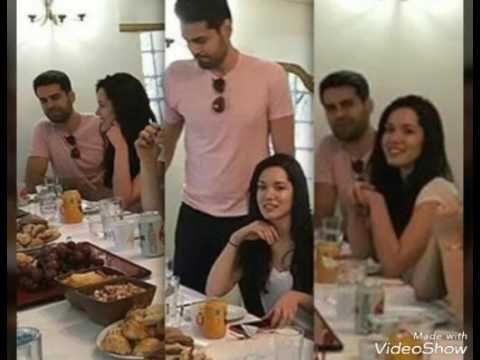 Erkan Meric Hazal Subasi özel yemekde