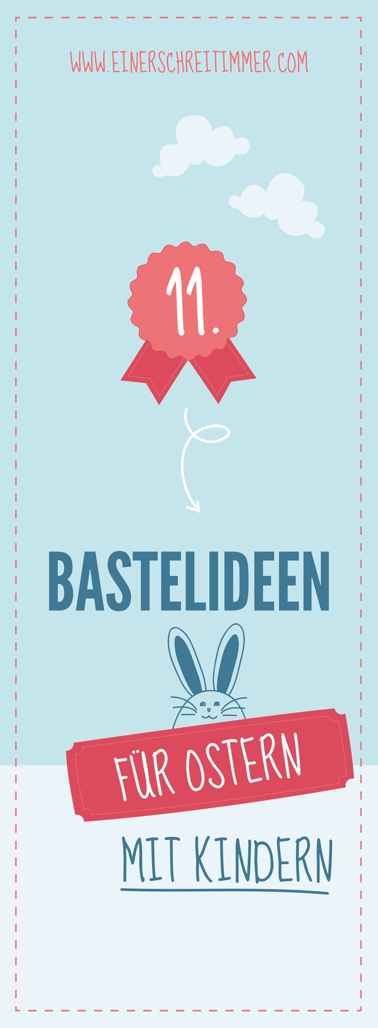 """Basteln mit Kindern zu Ostern: Egal wie das Wetter zu Ostern ist, wir haben die perfekten Ideen für bastelfreudige Kinder. Die schönsten Geschenke um zu sagen: """"Frohe Ostern""""!"""
