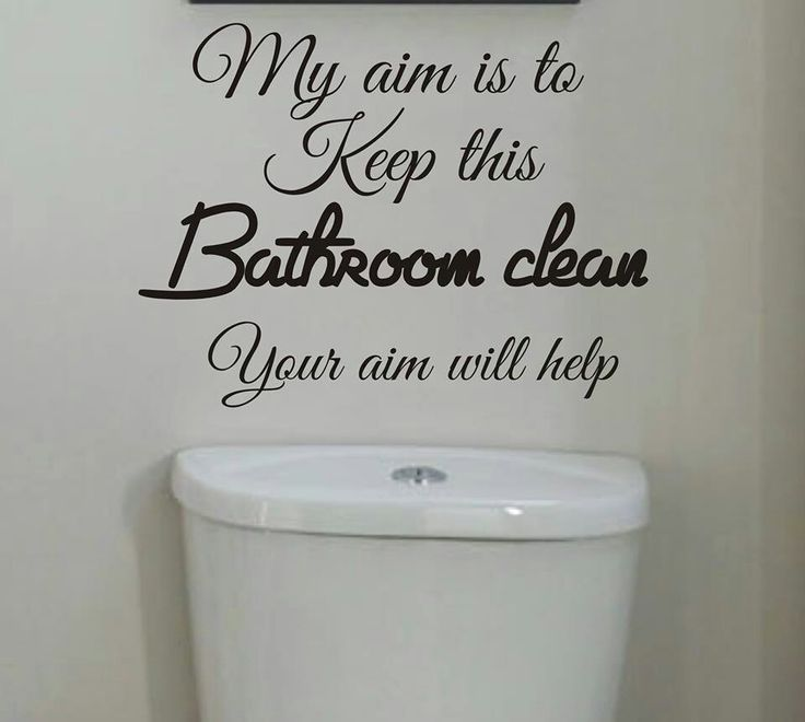 99 best images about bathroom sayings and signs on
