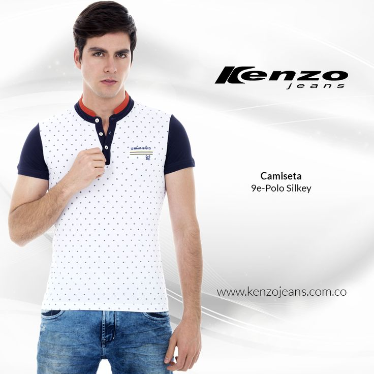 Una camiseta es una prenda práctica, ligera y confortable puede acompañarte en un día muy fresco llenando tu #outfit de estilo. #KenzoJeans más en www.kenzojeans.com.co