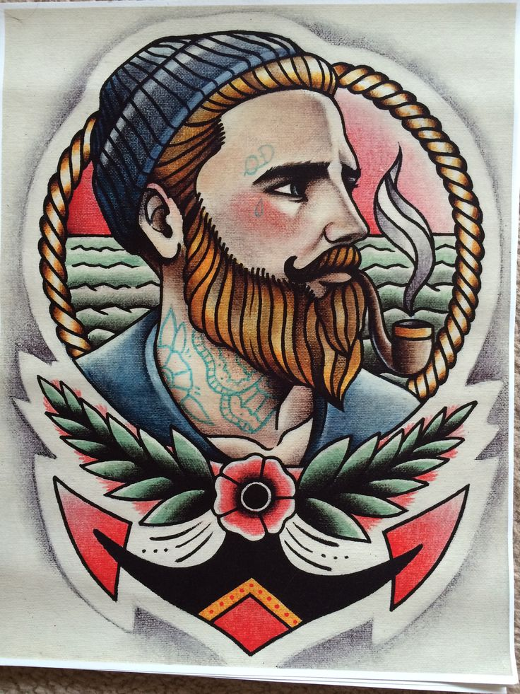 Bought this parlor tattoo pribt from etsy ❤️