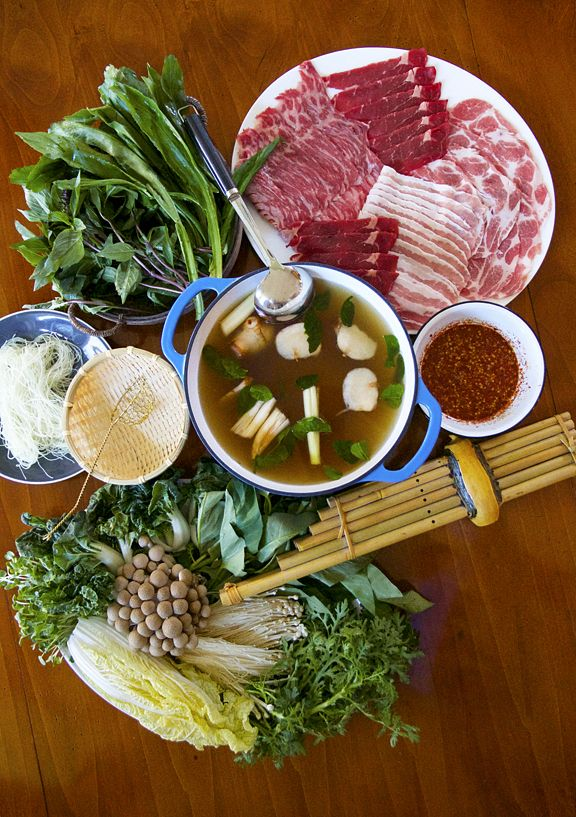 Hot Pot, Northeastern Thai Style