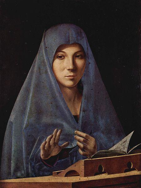 Antonello da Messina, The Palermo Annunciation, 1475
