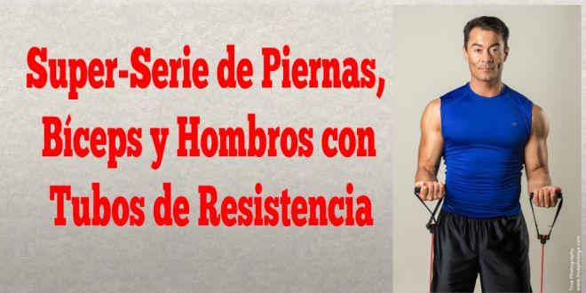 **Super-Serie de Piernas, Bíceps y Hombros con Tubos/Bandas de Resistencia** www.trainermarcelo.com/es  #Motivacion #Abdominales #Salud #Ejercicio #Nutrición #Dieta #Obesidad #Tonificar #Cardio #QuemaCalorias #BajarDePeso #Adelgaza #SaludActivaTV #TrainerMarcelo #100FormasDeAdelgazar #OrgulloLatino #MundoHispanico #Univision