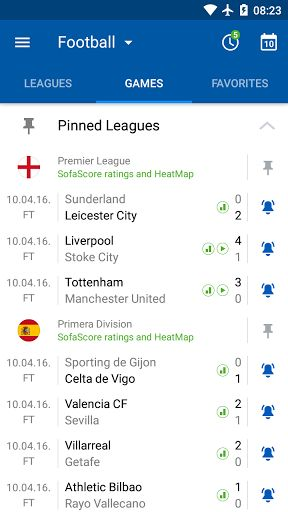 SofaScore Live Score v5.41.1 [Unlocked]   SofaScore Live Score v5.41.1 [Unlocked]Requirements:4.2 and upOverview:SofaScore is sports live score app with widget that gives you live coverage (results fixtures standings video etc.) for ALL LEAGUES and competitions in 17 sports.  SofaScore is sports live score app with widget that gives you live coverage (results fixtures standings video etc.) for ALL LEAGUES and competitions in 17 sports:  Football (Soccer) Basketball Ice Hockey Tennis…