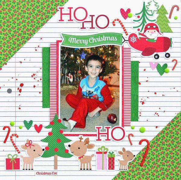 Ho Ho Ho - Here Comes Santa Claus Collection from Doodlebug Design