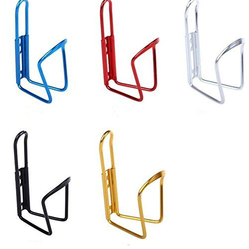 MagicW Alloy Bike Water Bottle Holder Bicycle Bottle Cage Water Bottle Rack Holder Bracket for Bike Bicycle Random Color >>> Want additional info? Click on the image.