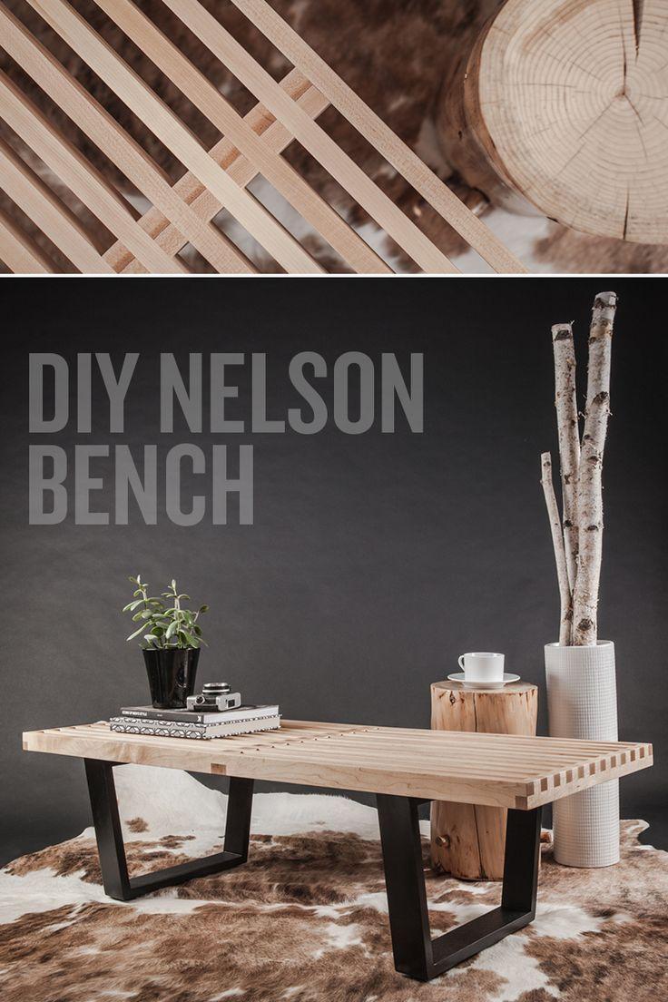 DIY Nelson Bench