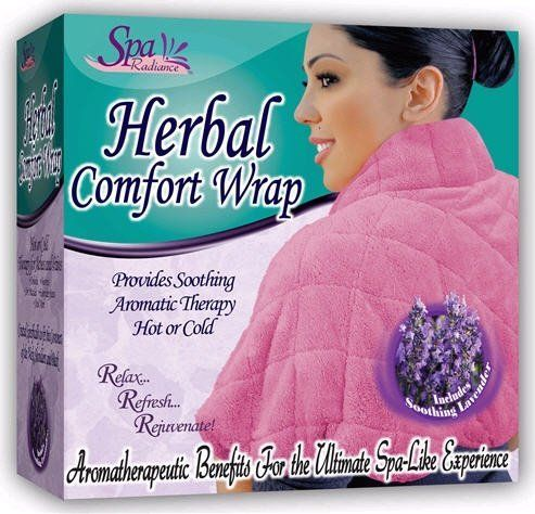 Spa Radiance Herbal Comfort Wrap by Jobar. Save 15 Off!. $29.90. Spa Radiance Herbal Comfort Wrap  Provides soothing aromatic therapy hot or cold.  Relax, refresh and rejuvenate. Aromatherapeutic benefits for the ultimate spa-like experience.  Filled with soothing lavender.The Ultimate spa-like experience. Delivers soothing warmth perfect for addressing arthritis, bursitis, sore muscles or just the daily stresses of life. Just pop in the microwave oven then wrap around your neck...