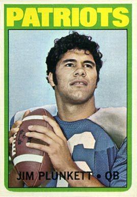 1972 Topps Football Cards Value | 1972 Topps Jim Plunkett #65 Football Card Value Price Guide