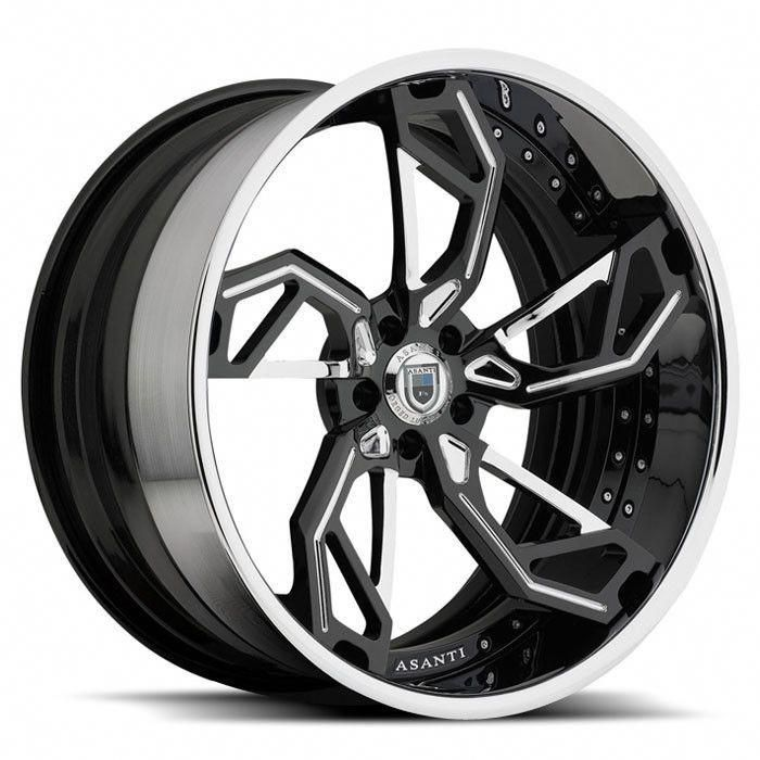 The Asanti 806 Is A Custom Wheel That Is Made To Order In Various Sizes And Finishes The Price Listed Is A St Custom Wheels And Tires Car Wheels Custom Wheels