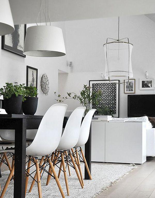 Den svart/vita trenden med inslag av växter ‹ Dansk inredning och design