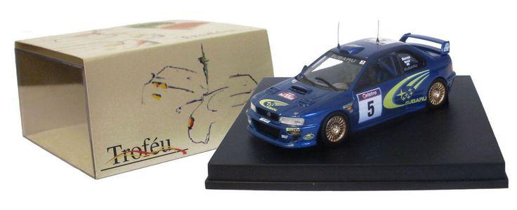 Trofeu 1115 Subaru Impreza WRC 99 Winner Australia Rally 1999 - R Burns 1/43    eBay
