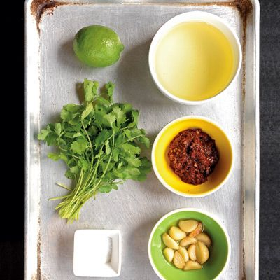 {Aarón Sánchez's garlic-chipotle love sauce} must make this chili sauce! it can be kept up to 2 weeks in the fridge or 1 month in the freezer.