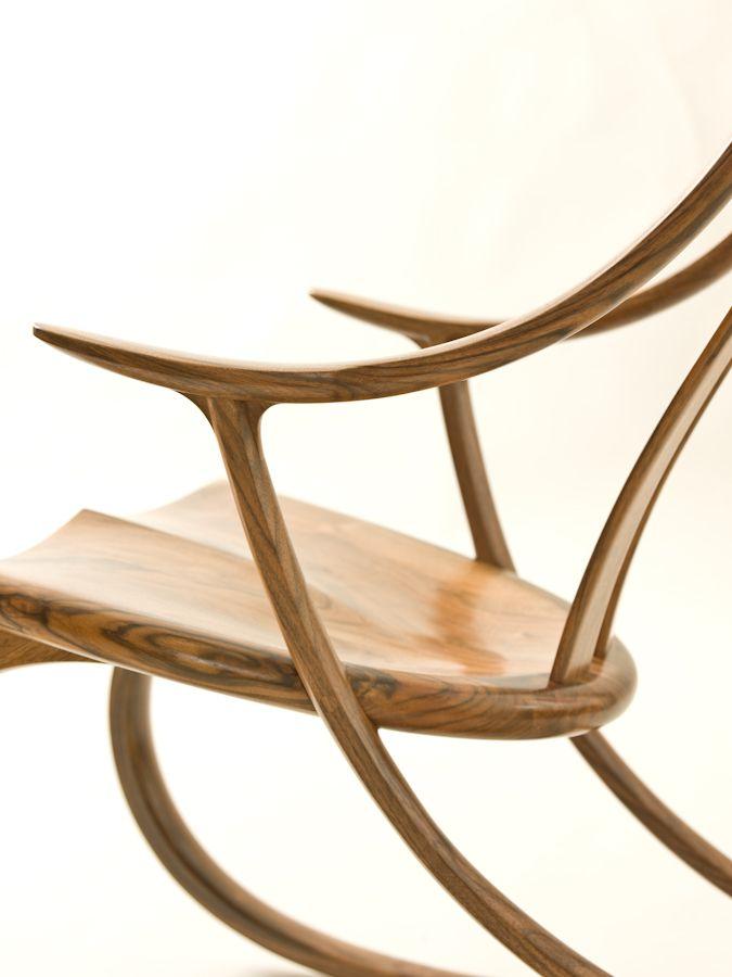 wood rocking chair parts desk kids english walnut pinterest and