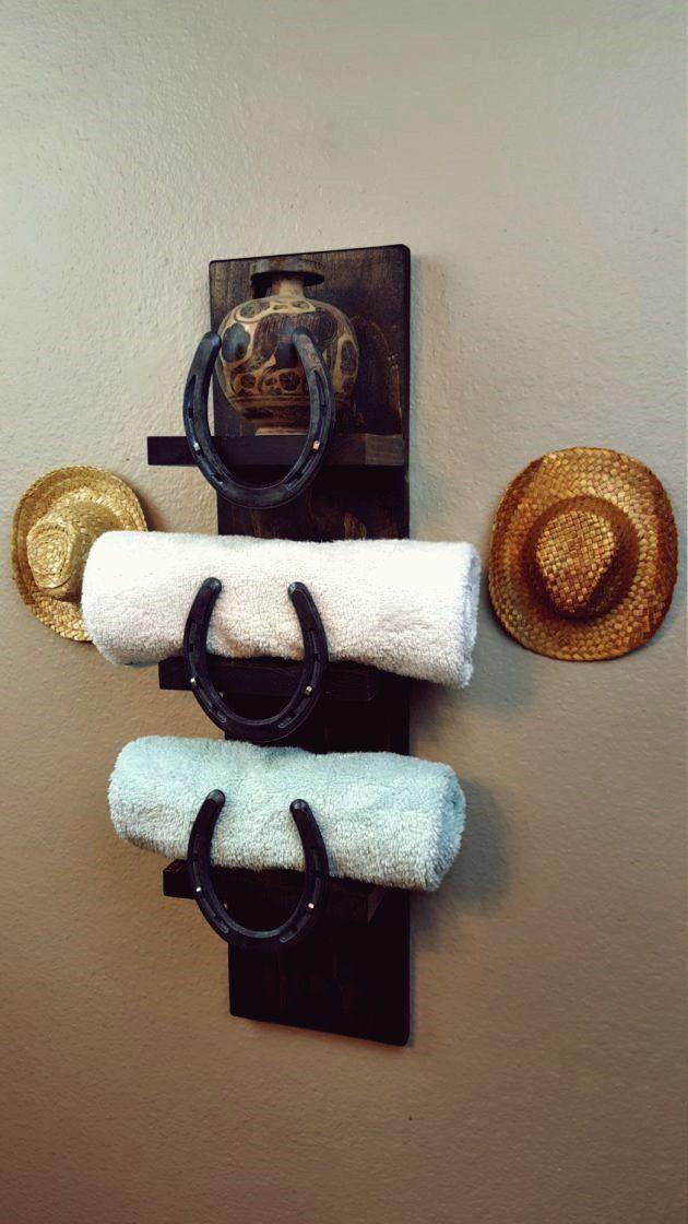 15 erstaunliche handgemachte rustikale Handtuchhalter