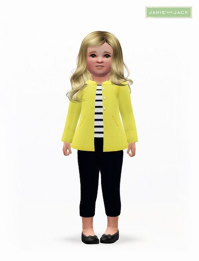 Female Clothes: New Clothing for Toddler Females - The Sims 3 Custom Content