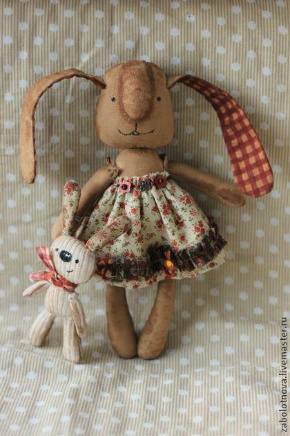 Зая Бусинка - коричневый,заяц,кролик,ароматизированная игрушка,кофе,пряничные игрушки