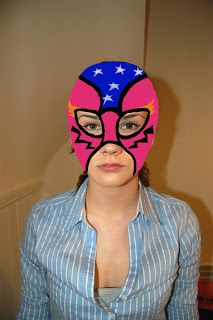 Paper Yak: Lucha Libre! How to make your own Mexican Wrestling Mask [Photo Heavy!]