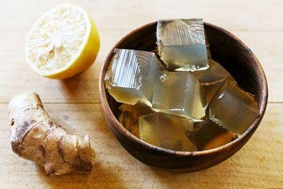 """Életmód cikkek : """"Gyógyító"""" zselé citromból, gyömbérből és narancsból!"""
