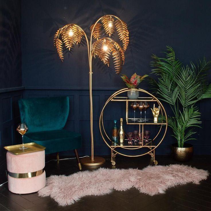 Einzigartige Stehlampen Stehlampe Wohnzimmer Aus Gold
