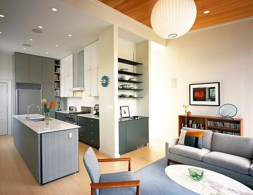 Awesome Kitchen/living Room Combo
