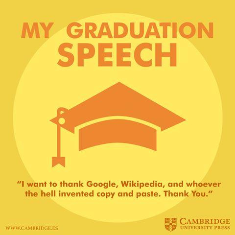 Aquí van algunos discursos famosos en inglés que pueden servir de inspiración para los cada vez más comunes en España discursos de graduación.