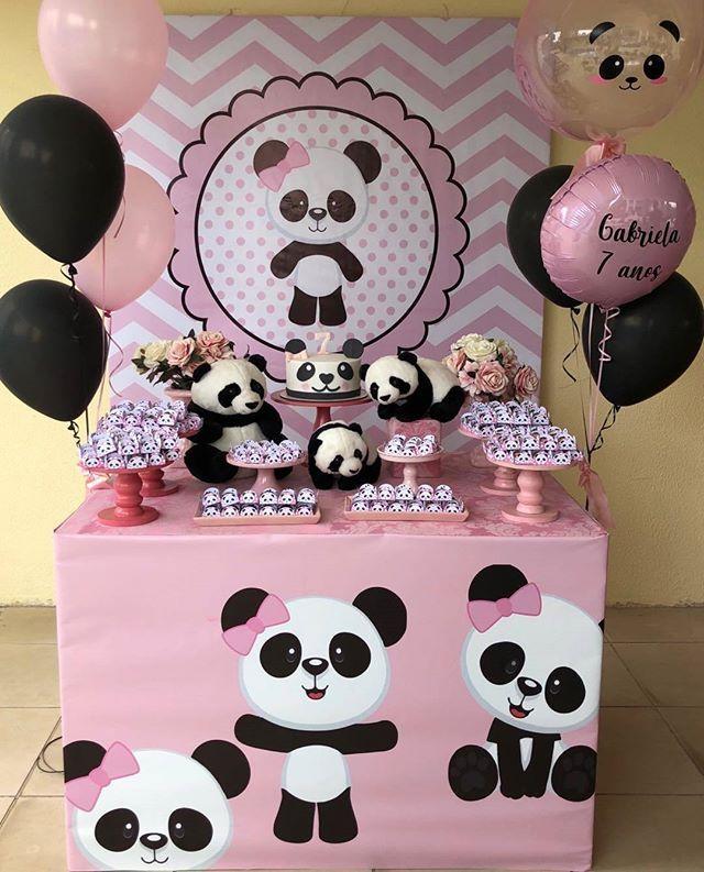 Lindissima Festa Com O Tema Panda Credito Joaoemariafestas