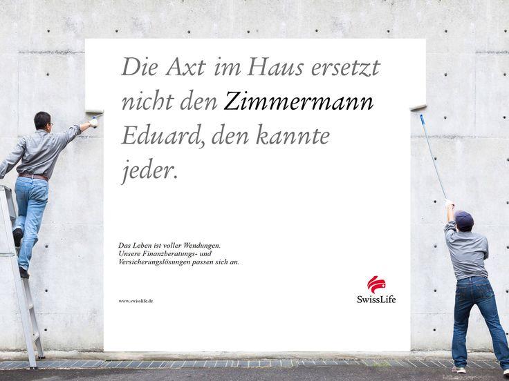 Die Axt im Haus ersetzt nicht den ZIMMERMANN Eduard, den kannte jeder. #wendesatz