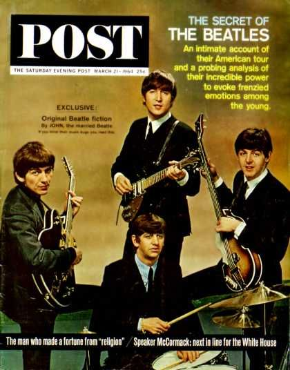 The Beatles The Saturday Evening Post 1964 Fotógrafo (John Zimmerman)