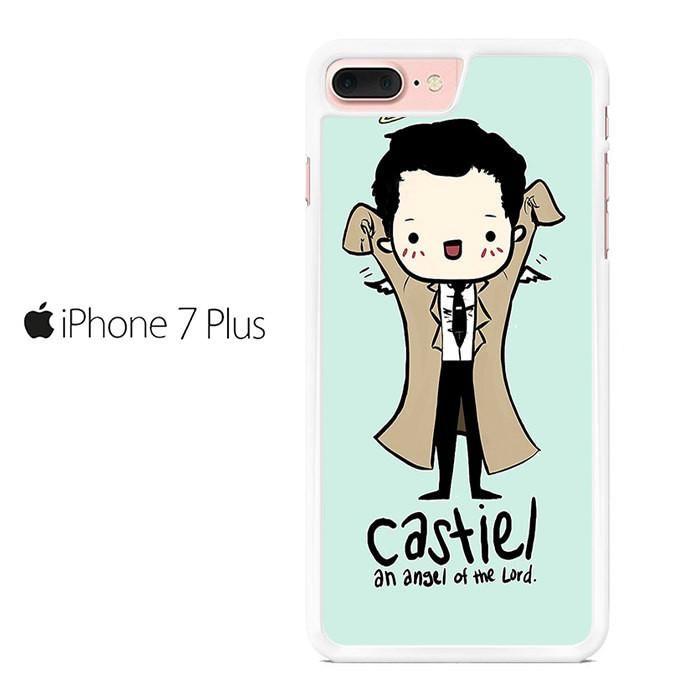 Castiel Angel Supernatural Iphone 7 Plus Case