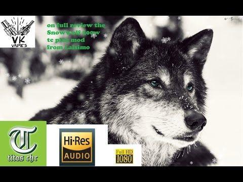 Vkvapes on laisimo snowwolf 200w plus, full review (Greek)