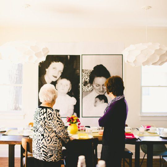 How To Make Really Big and Cheap Photo Posters for a Party — Gatherings from The Kitchn | The Kitchn