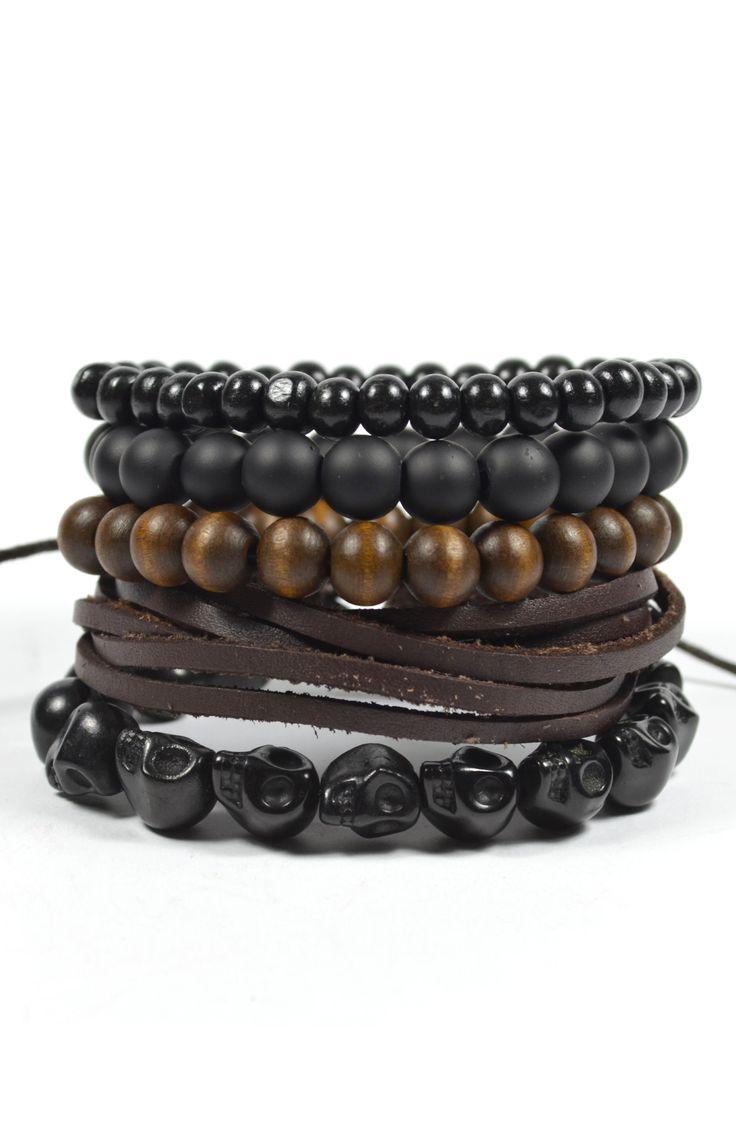 5 Pack Black Out Bracelet – TAG TWENTY TWO