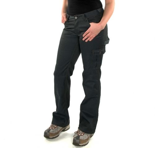 Moxie Denim Carpenter Pants Reg. 59.99 - Now 15.00 Moxie denim Five pockets 1 Cargo pocket 1 Hammer loop Hidden knee pad pocket Boot Leg Cut Zipper 98% Cotton 2% Spandex